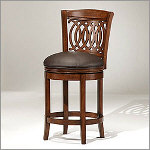 "Gothic 24"" Counter Height Swivel Barstool"