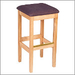 Bulldog Custom Backless Bar Stool