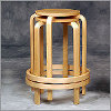 Linon - Bentwood Counter Stool