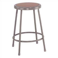 "Heavy Duty 24"" Steel Stool"