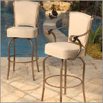 Island Outdoor Counter Stool