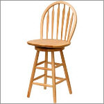 Windsor Wooden Counter Stool