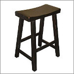 "24"" Saddleseat Counter Stool"