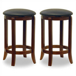 "Winsome - 24"" Swivel Counter Stool"